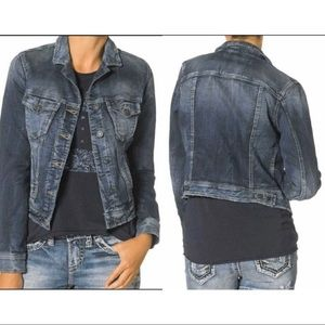 Silver Jeans Denim Jacket Small